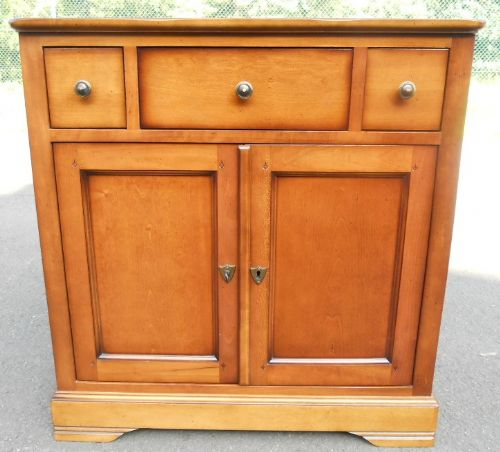 Small Walnut Cupboard Sideboard
